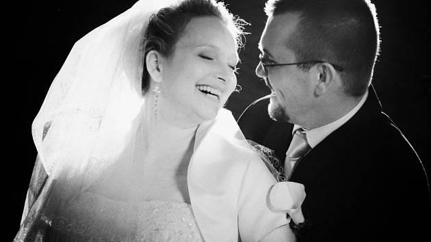 Soutěžní svatební pár číslo 64 - Ludmila a Miloš Adamcovi, Jihlava.