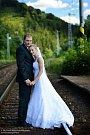 Soutěžní svatební pár číslo 145 - Veronika a Martin Machalovi, Vlachovice.