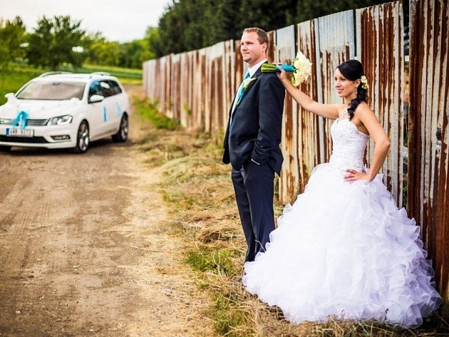 Soutěžní svatební pár číslo 22 - Ondřej a Jana Mošťkovi, Vlčnov.