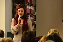 Autorka bestselleru Žítkovské bohyně v pondělí besedovala s hradišťským publikem.