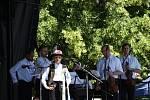 Národní soutěž dětských verbířů se konala na Masarykově náměstí v Hradišti.