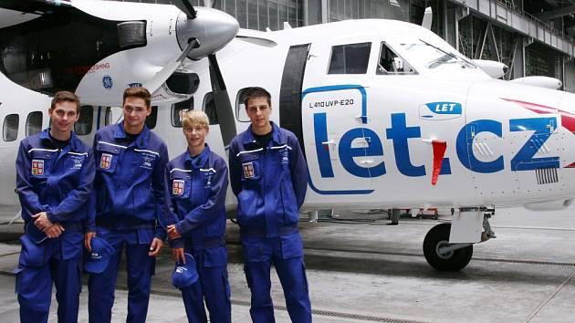 Hoši ze Střední školy letecké představí výsledky své práce v Rusku.