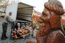 Betlém s figurkami v životní velikosti mají v uherskohradišťské Galerii Slováckého muzea.