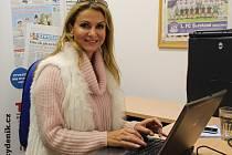 Yvetta Blanarovičová v redakci Slováckého deníku odpovídá v on-line rozhovoru čtenářům Deníku.