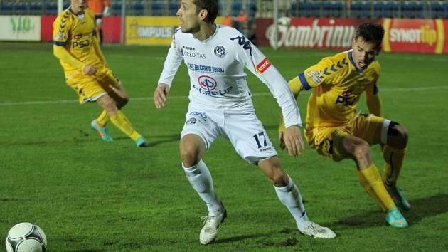1. FC Slovácko - Jihlava. Ilustrační foto.