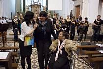 Koncertem pro Gabču v neděli 11. května ve farním kostele Neposkvrněného Početí Panny Marie v Uherském Brodě, vyvrcholila benefiční akce, která si dala za cíl sehnat peníze na léčbu handicapované Gabriely Gougelové.
