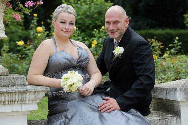 Soutěžní svatební pár číslo 109 - Jitka a Igor Steinerovi, Přerov.