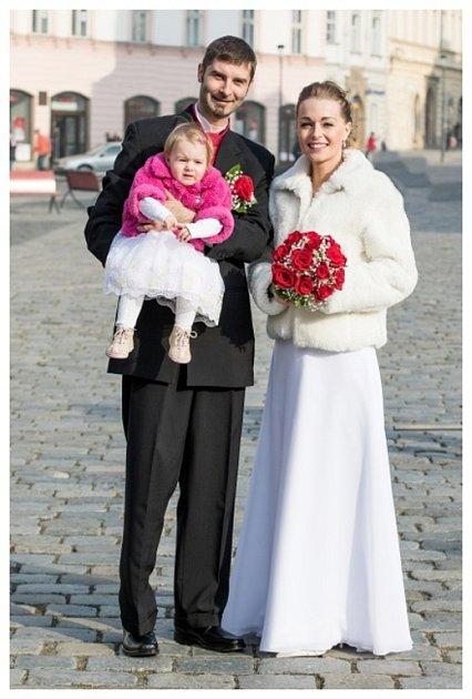 Soutěžní svatební pár číslo 125 - Petra a Jaroslav Grauerovi, Olomouc