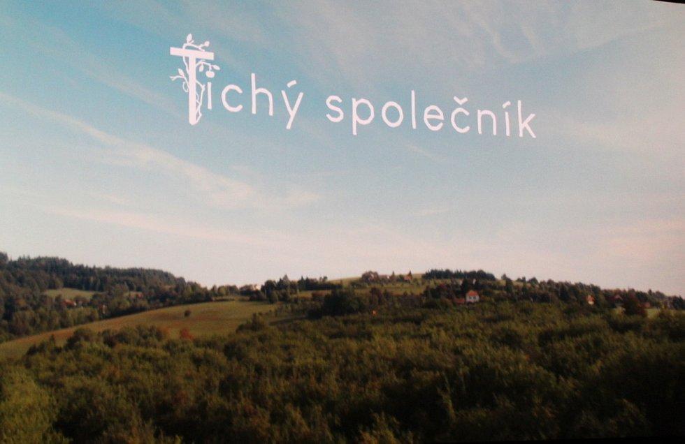 Premiéra filmu Tichý společník v kině Hvězda v Uherském Hradišti.