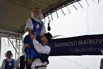 Slavnosti bratrství Čechů a Slováků na Velké Javořině. Ilustrační foto.