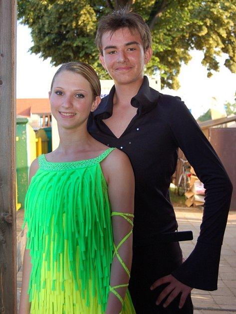 Gabriela Richterová a David Weil.