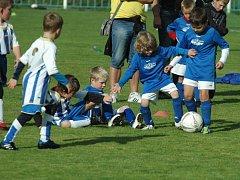 Platby za přestup se mají nově týkat i malých dětí v takzvaných fotbalových přípravkách. Ilustrační foto