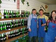 Vinaři byli s účastí fajnšmekrů vína spokojeni.