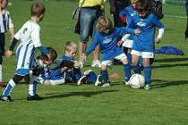 Dětí, a tím i možných zájemců o účast ve fotbalové přípravce je na vesnicích stále dost. Fotbaloví odborníci ale tvrdí, že by mělo přibýt snaživých trenérů, kteří by mládež motivovali.