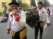 Na Slováckých slavnostech vína bylo opravdu co pít.