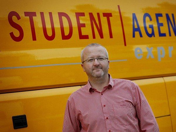 Radim Jančura, majitel společnosti Student Agency. Ilustrační foto.