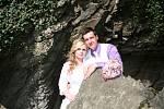 Soutěžní svatební pár číslo 26 – Nela a Petr Vrbovi, Kostelec na Hané