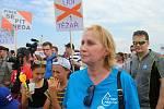 Pochod za vodu na Slovácku