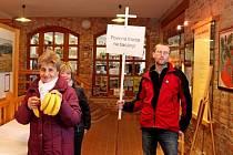 Výstava Nebyl to jen apríl v Muzeu Podhradí v Buchlovicích.