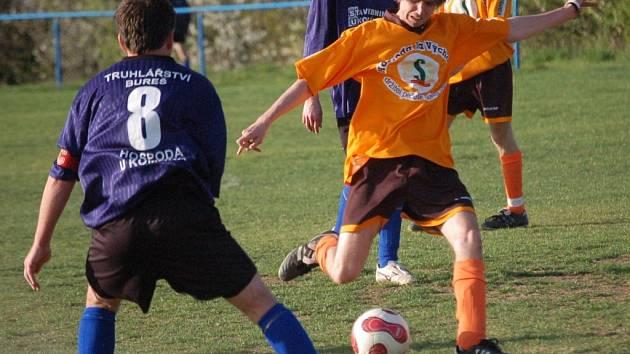 Záběr z utkání Mařatice versus Drslavice.