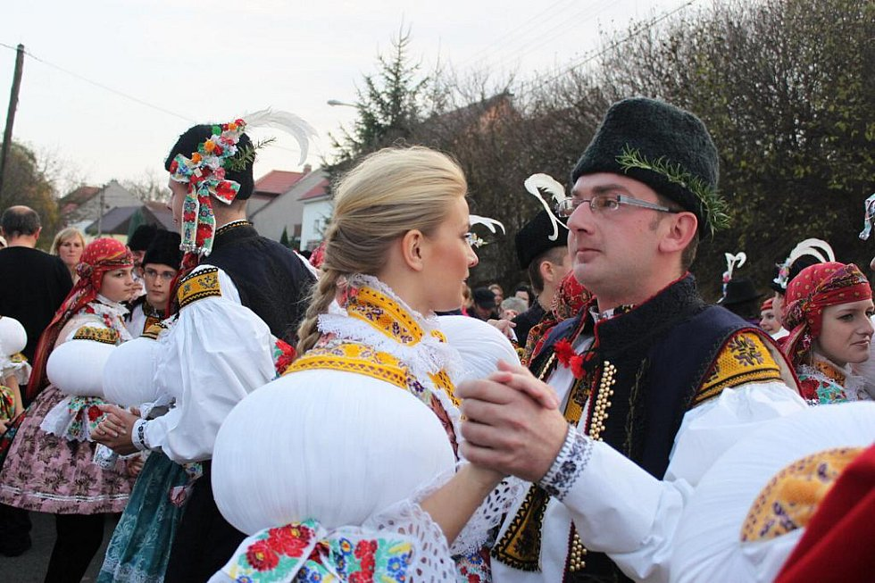 Hana a Tomáš Věrní byli kudlovickými stárky před šesti lety.