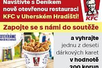 KFC otevírá restauraci vUherském Hradišti