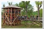 Vhektarové obůrce Živé vody na Modré byl v sobotu pokřtěn pratuří býček jménem Jaroš.