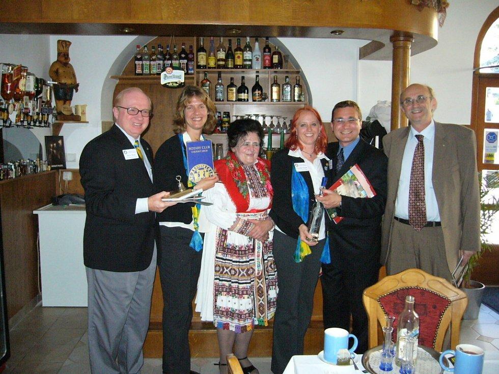 Setkání s americkými rotariány bylo prvním krokem k budoucí spolupráci s brodským klubem.