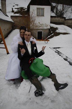 Soutěžní svatební pár číslo 41 - Kateřina a Zdeněk Silní, Jankovice