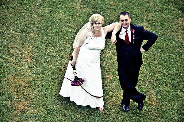 Soutěžní svatební pár číslo 79 - Lucie a Zdeněk Žižkovi, Šumperk.