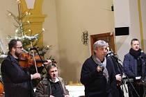 Koncert Hradišťanu zaplnil kostel sv. Jakuba st. ve Vlčnově.