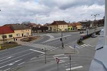 Křižovatka ve Starém Městě zhasla. Oprava potrvá týden