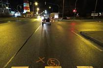 Policisté šetří střet chodce s vozidlem v úterý 2. února ve Starém Městě.