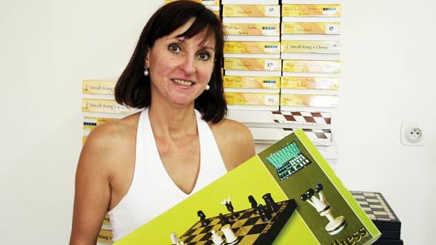 K šachům jsem dříve vztah neměla, říká Bohumíra Fládrová.
