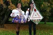 Soutěžní pár číslo 39 - Magdaléna Ryndová a Tomáš Bernatík, Polešovice, mladší stárci na hodech 11.-13. října.