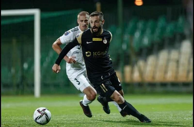 Fotbalista Tomáš Zajíc na hostování v polském Śląsku Wrocław viditelně ožil. Foto: se svolením Tomáše Zajíce
