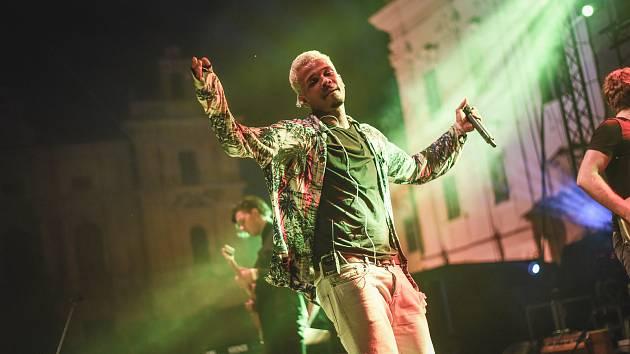 O koncertní vystoupení zpěváka Bena Cristovaa byl vůbec největší zájem.