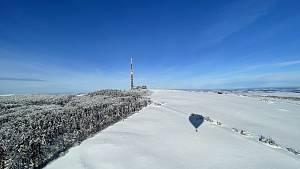 Přelet Velké Javořiny balonem společnosti Balony.EU