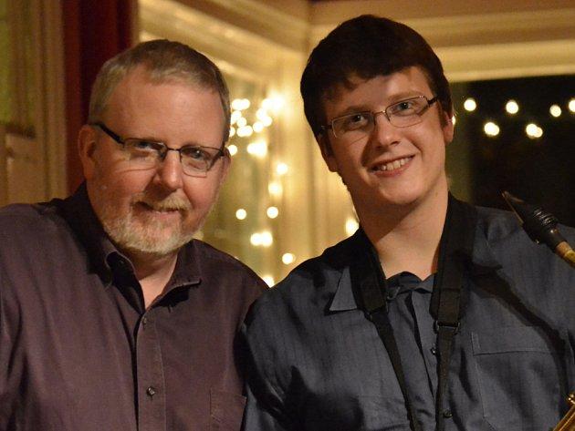 Wilkinsovi. Otec a syn se představí v Uherském Hradišti.