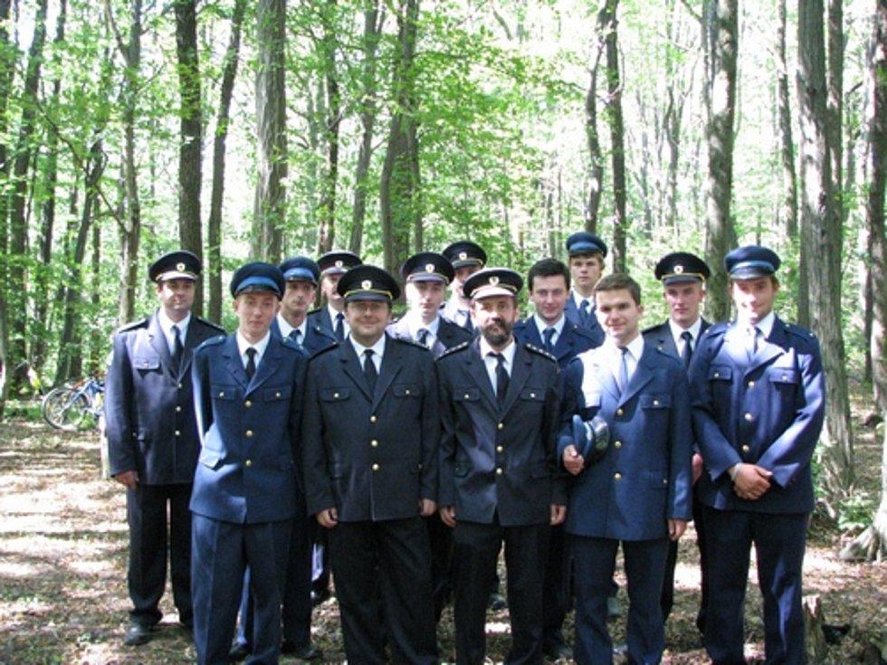 Sbor dobrovolných hasičů z Bystřice pod Lopeníkem.