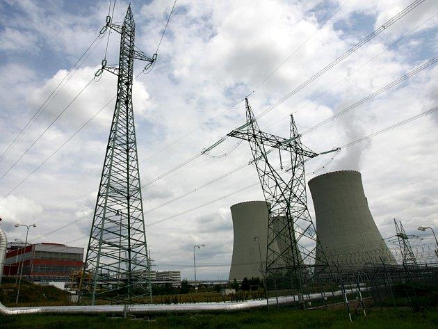 Jaderná elektrárna Temelín. Ilustrační foto.