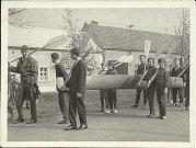 První máj v roce 1963.