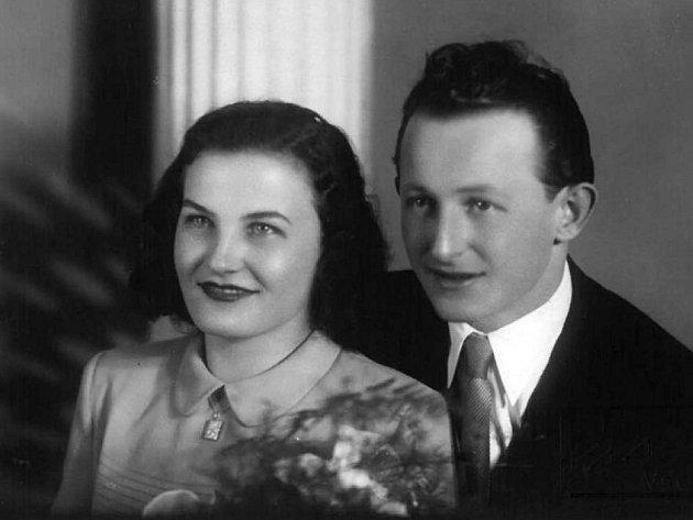 Soutěžní svatební pár číslo 232 - Věra a Ervín Eichnerovi, Vsetín