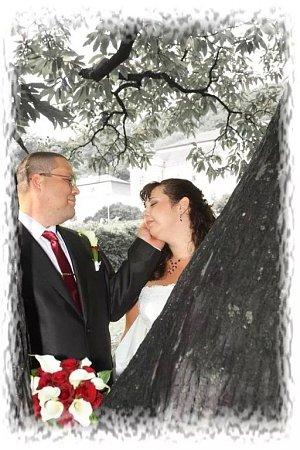 Soutěžní svatební pár číslo 242 - Lucie a Viktor Šuraňovi, Bělkovice.