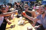 Hradišťské piváky na Masarykově náměstí