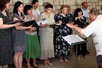 Koncert duchovní hudby v Památníku Velké Moravy