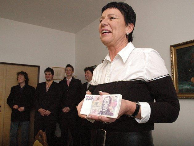 Místostarostka Kunovic Ivana Májíčková.