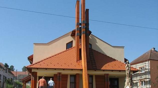 Kostel za sedm milionů korun postavili věřící během necelých čtyřiceti měsíců.