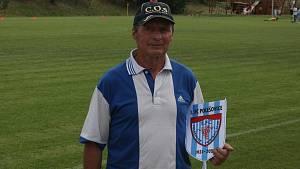 Legenda pražské Sparty Zdeněk Caudr pochází z Polešovic, kde tráví i letní měsíce.