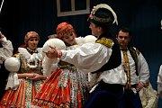 Folklorní soubor a cimbálová muzika Rozmarýn. Ilustrační foto.